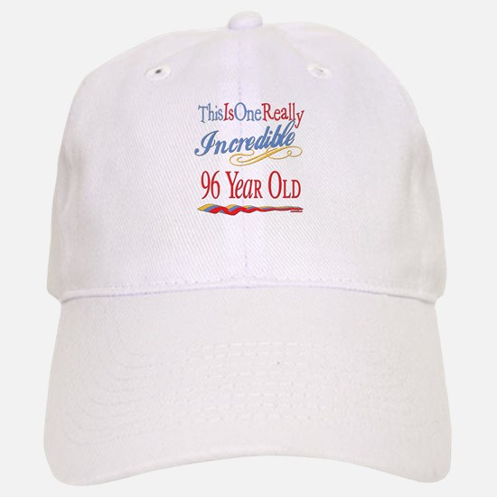 Incredible At 96 Baseball Baseball Cap