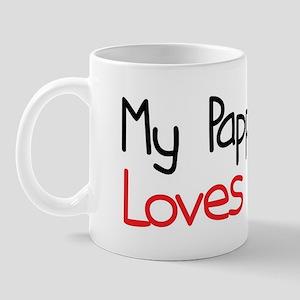 My Pappou Loves Me Mug