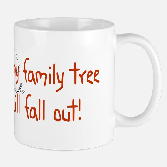 Shaking Family Tree (Red) Mug