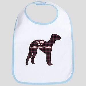 BFF Bedlington Terrier Bib