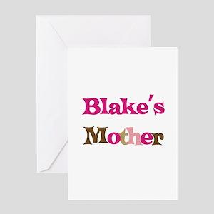 Blake's Mother Greeting Card