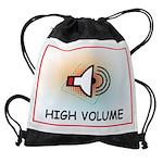 HIGH VOLUME Drawstring Bag