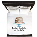 im just the icing on the cake King Duvet