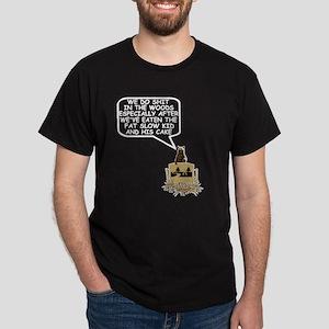 Bears shit in the woods Dark T-Shirt