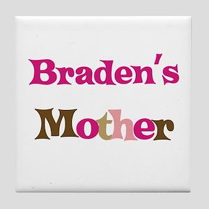 Braden's Mother  Tile Coaster