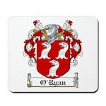 O'Ryan Family Crest Mousepad