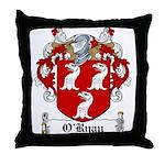 O'Ryan Family Crest Throw Pillow