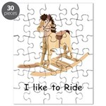 Rocking_horse I Like To Ride Puzzle