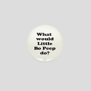 Bo Peep Mini Button