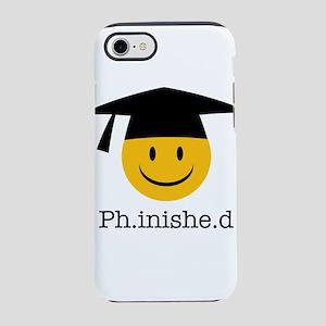 phd smiley iPhone 8/7 Tough Case