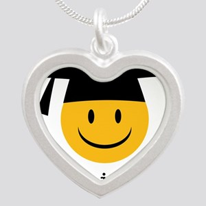 phd smiley Necklaces