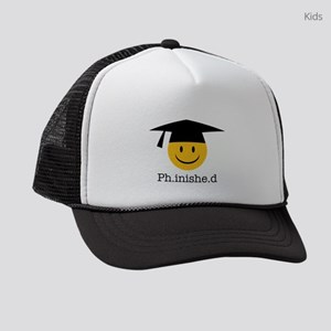 phd smiley Kids Trucker hat