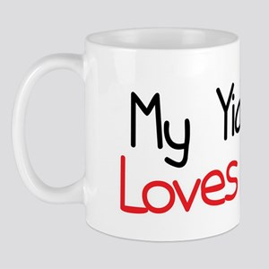 My YiaYia Loves Me Mug