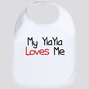 My YiaYia Loves Me Bib
