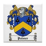 Palmer Family Crest Tile Coaster