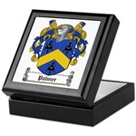 Palmer Family Crest Keepsake Box
