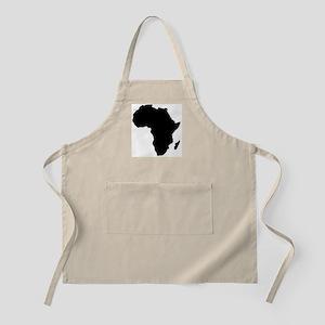 Africa Map Light Apron