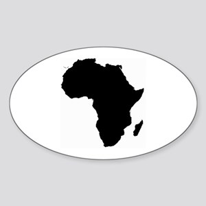 Africa Map Sticker
