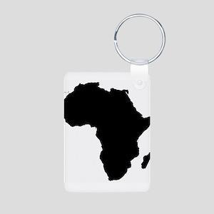 Africa Map Keychains