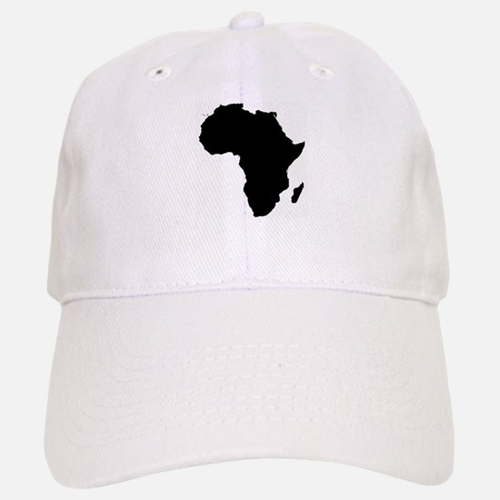 Africa Map Baseball Baseball Cap
