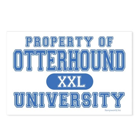 Otterhound University Postcards (Package of 8)