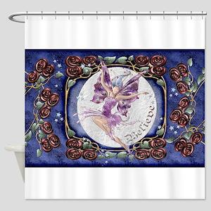 Harvest Moons Rose Fairy Shower Curtain