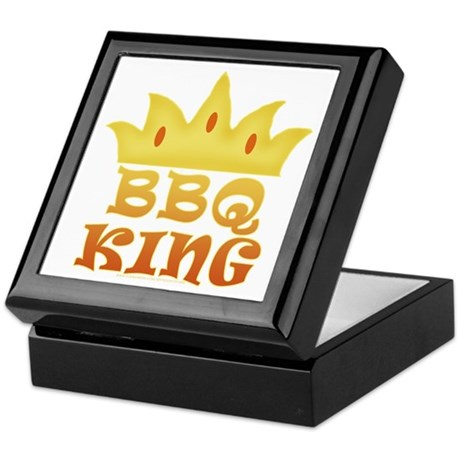 BBQ King Design Keepsake Box