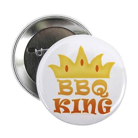 "BBQ King Design 2.25"" Button"