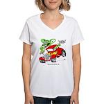 HBS FINK Women's V-Neck T-Shirt