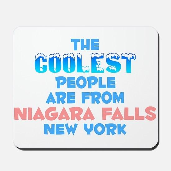 Coolest: Niagara Falls, NY Mousepad
