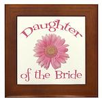 Daisy Bride's Daughter Framed Tile