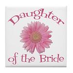 Daisy Bride's Daughter Tile Coaster