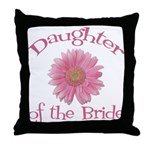 Daisy Bride's Daughter Throw Pillow