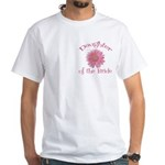 Daisy Bride's Daughter White T-Shirt