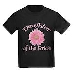 Daisy Bride's Daughter Kids Dark T-Shirt
