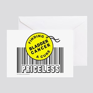BLADDER CANCER FINDING A CURE Greeting Card