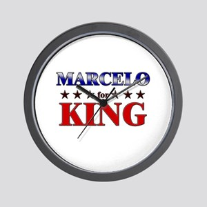 MARCELO for king Wall Clock