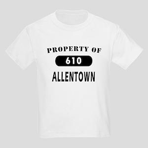 Allentown Area Code 610 T-shi Kids Light T-Shirt