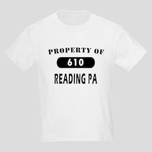 Reading 610 PA Areacode Tees Kids Light T-Shirt