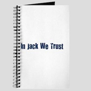 In Jack We Trust Journal