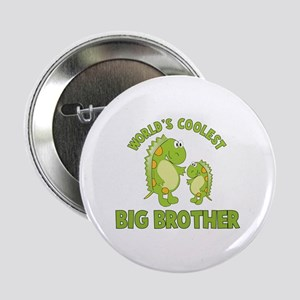 "world's coolest big brother dinosaur 2.25"" Button"