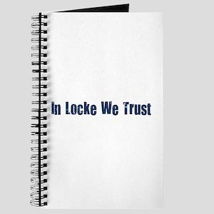 In Locke We Trust Journal