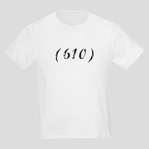 Area Code 610 PA T-shirts Kids Light T-Shirt