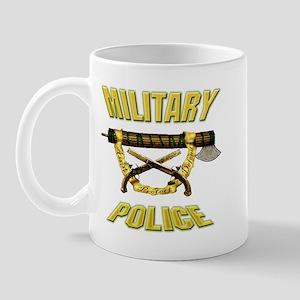 Military Police Fasces w/ Pis Mug