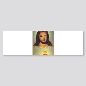 Sacred Heart of Jesus Bumper Sticker