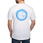 Hang Gliding Ridge Ride Lt Blue Fitted T-Shirt