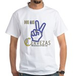 Cervezas White T-Shirt