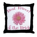 Daisy Bride's Best Friend Throw Pillow