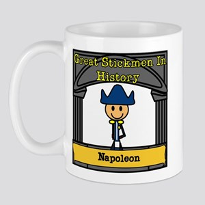 Great Stickmen In History: Napoleon Mug