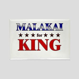MALAKAI for king Rectangle Magnet